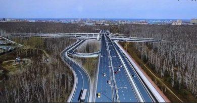 совмещенный мост Мельникайте
