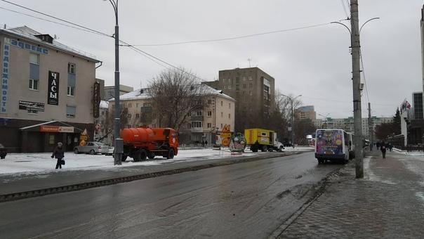 коммунальная авария на Ленина