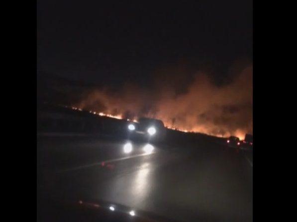 пожар под Тюменью