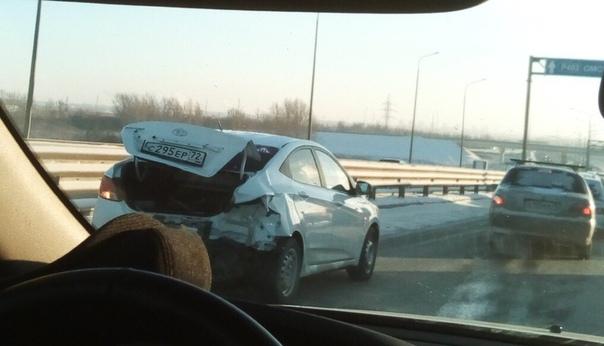 массовая авария на объездной