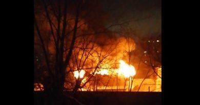 пожар на Одесской