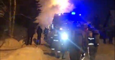 пожар Лопарева