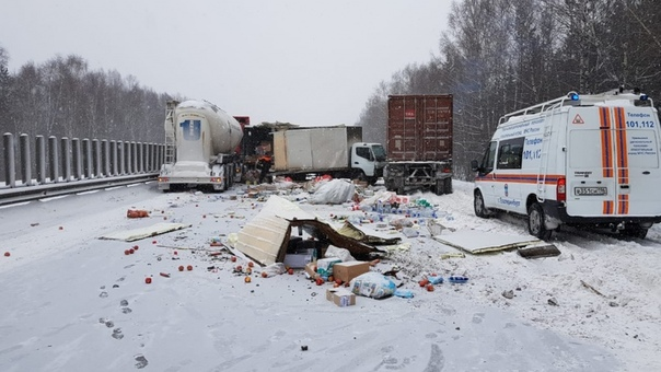 аварии на трассе Екатеринбург Тюмень