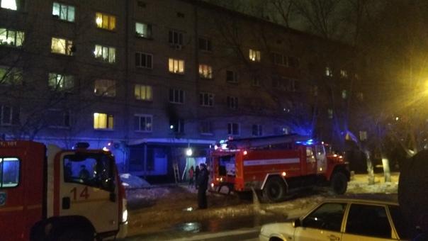 пожар на Сургутской