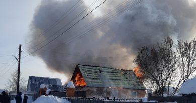 пожар Парфенова