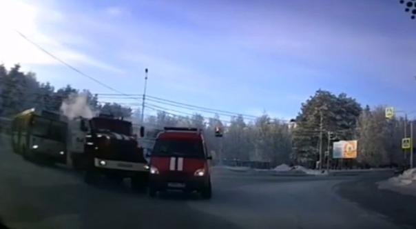 В Сургуте пожарная