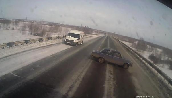 ДТП под Челябинском