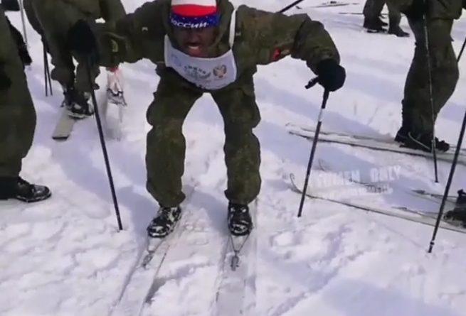 лыжник Тюмень
