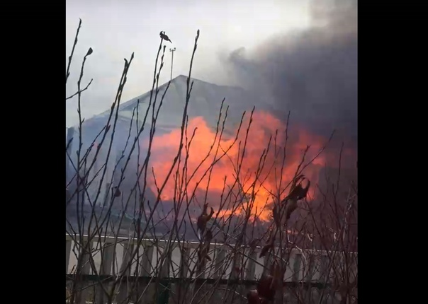 пожар в Ембаево