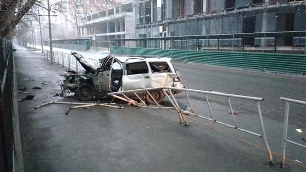 авария в Тюмени