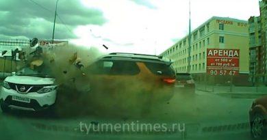 видео аварии