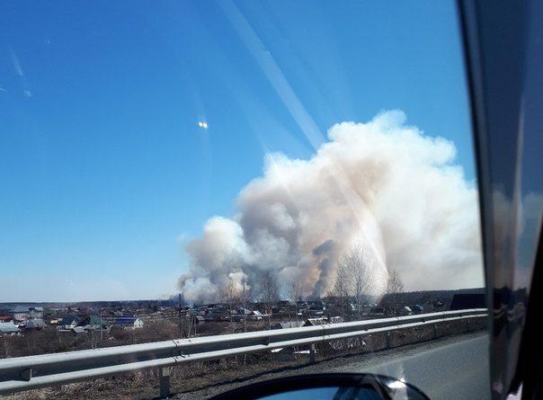 пожар Кулаково