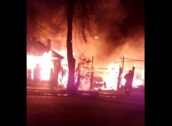 пожар на Перекопской