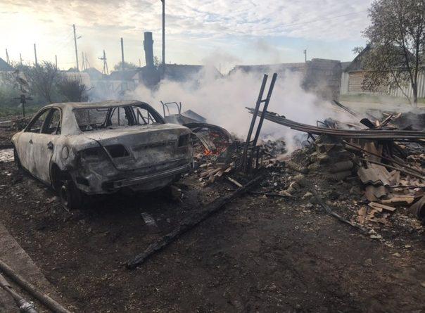 два пожара в Ярково