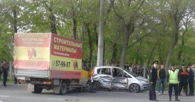 авария Комсомольский сквер