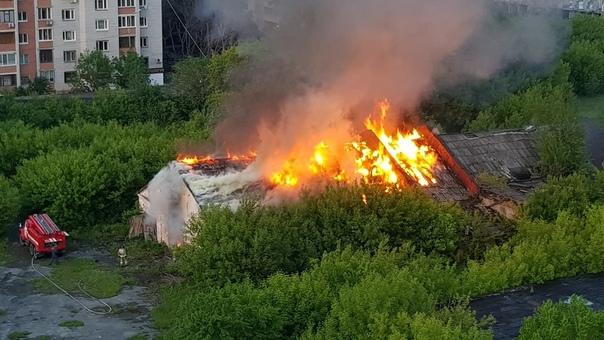 пожар ТВВИКУ