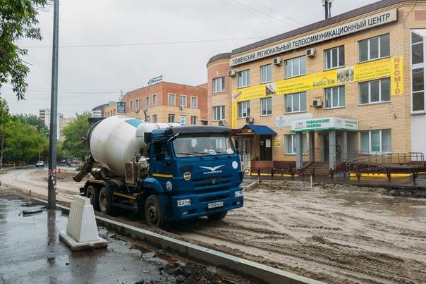 Ремонт улицы Осипенко закончат к концу июля