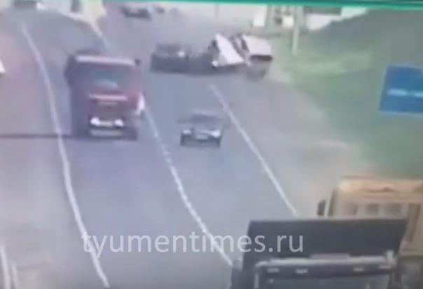 лобовая авария в Тобольске
