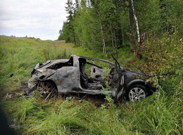 """В Нефтеюганском районе разбился и сгорел автомобиль """"Опель Астра"""", погиб пассажир"""