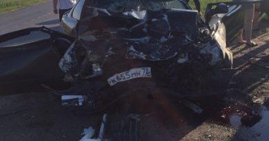 В аварии на Старотобольском тракте получили травмы четыре человека