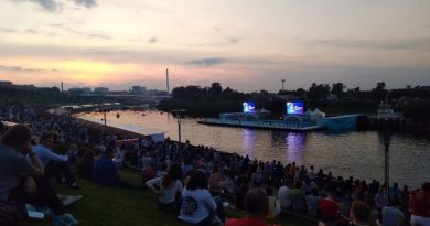 Концерт на Набережной: симфонический оркестр, звезды Большого театра, Имперский марш и DJ Groove. ФОТО, ВИДЕО очевидец