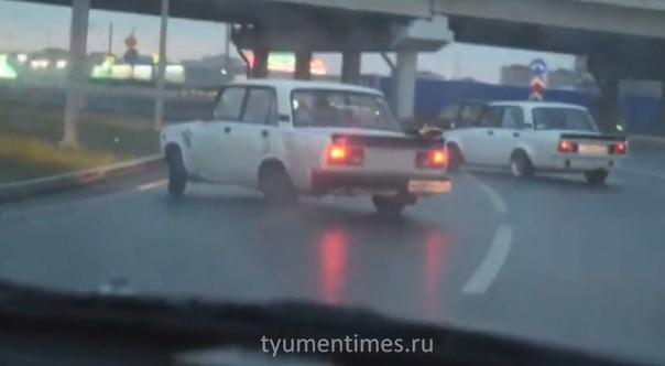 Боком на ВАЗах, пожар на Совхозной, горящий автомобиль на Московском и другие ВИДЕО недели