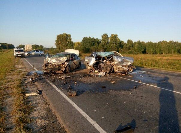 Два человека погибли в утренней аварии под Ялуторовском