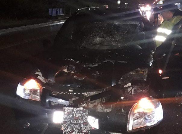 """Трагедия в Тобольске: на пешеходном переходе """"Нива"""" снесла женщину"""