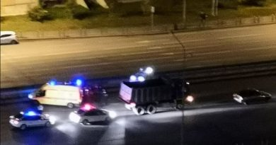 Ночью на Монтажников самосвал сбил насмерть молодого петербуржца
