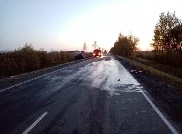 В ночной аварии на трассе Ялуторовск - Ярково погиб водитель Hyundai