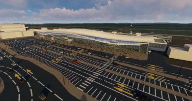 """Опубликовано ВИДЕО проекта реконструкции тюменского аэропорта """"Рощино"""""""