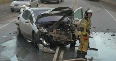 """""""В мой автомобиль на большой скорости влетел джип"""". Пострадавшая в массовой аварии под Тюменью рассказала подробности ДТП"""
