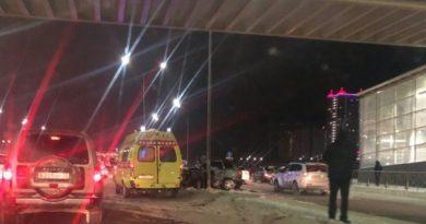 страшная авария на тюменской объездной
