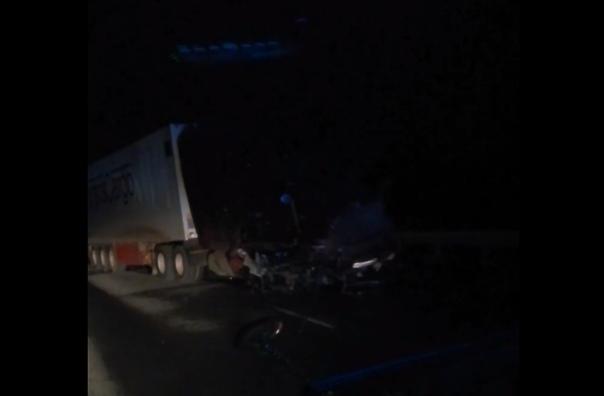 В страшной аварии под Ярково погиб бывший начальник ГИБДД. Видео с места происшествия