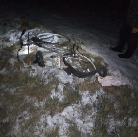 Ночью на Ирбитском тракте сбили насмерть 19-летнего велосипедиста