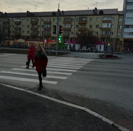Тюменец добился изменений в П-образный пешеходный переход в центре Тюмени