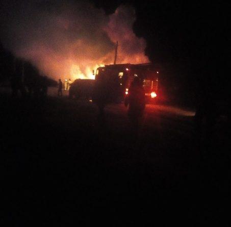 В страшном пожаре под Ишимом погибли двое детей