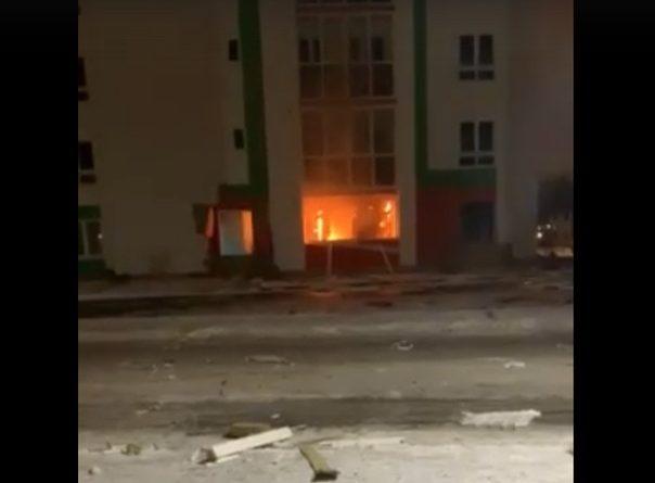 Взрыв газа в четырехэтажке в Ново-Патрушево в Тюмени. ФОТО, ВИДЕО очевидцев