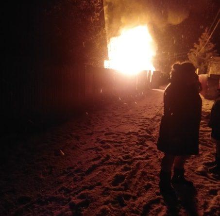 погиб человек в пожаре под Тюменью