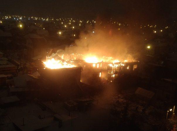 пожар Гастелло Тюмень