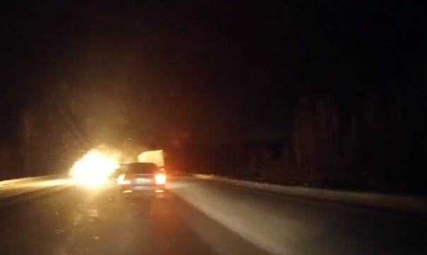 В сети появилось ВИДЕО момента массовой аварии на Ялуторовском тракте
