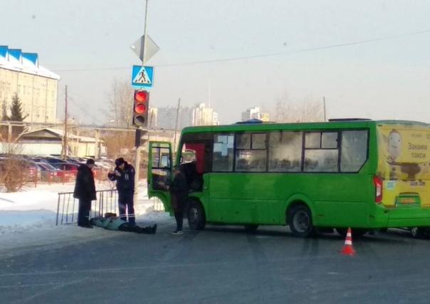 В Тюмени на Щербакова 51-й автобус сбил пешехода