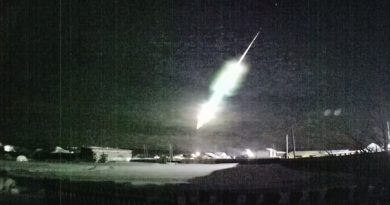Падение метеорита в Тюменской области. ВИДЕО, комментарии очевидцев и специалистов