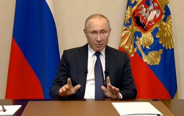 Обращение Владимира Путина к гражданам: выходная неделя, перенос голосования и другие меры
