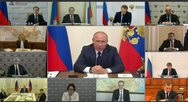 Путин: всем семьям с детьми от 3 до 16 лет разово выплатят 10 тысяч рублей