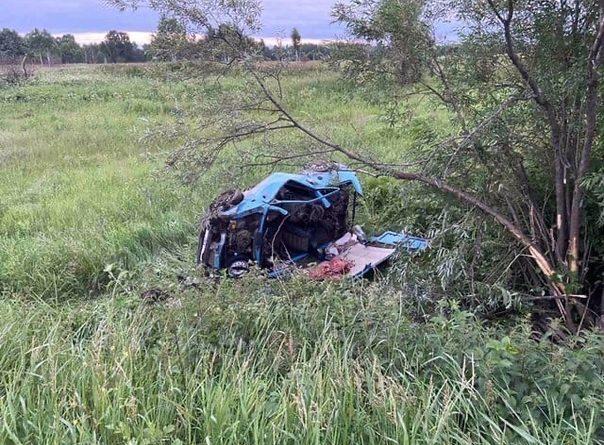 """ДТП в Вагайском районе: пьяный водитель отправил """"Оку"""" в кювет, пострадали 4 ребенка и их мать"""