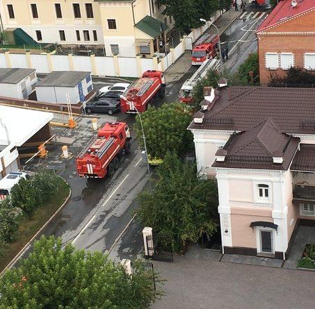 Пожар в здании частной школы на Водопроводной: эвакуированы 30 детей