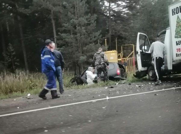 Два человека погибли в жесткой аварии на Салаирском тракте под Тюменью