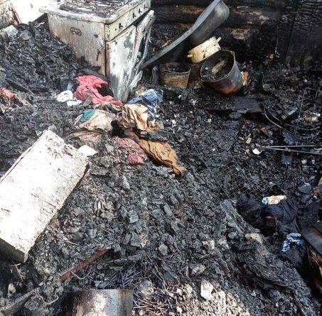Трагедия в деревне Мешалкина под Ишимом: в пожаре погибли двое детей