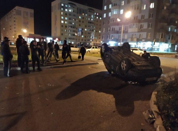 Опубликован ВИДЕО момента переворота автомобиля в Новоантипино